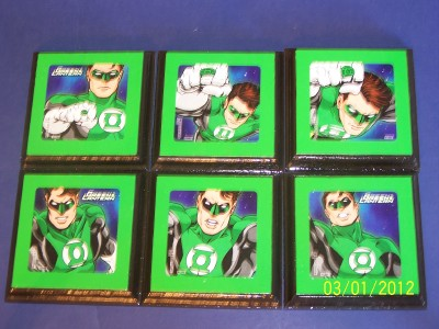 marvel comics green lantern wall plaques decor bedding signs nursery
