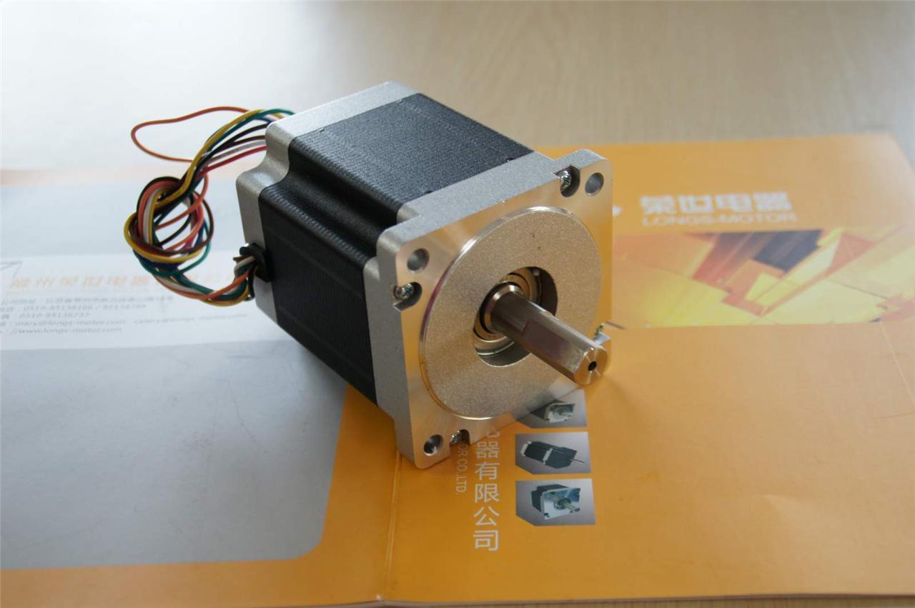 4 axis nema 34 stepper motor 1600 878 oz cnc for Nema 34 stepper motor driver
