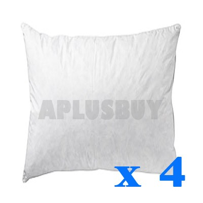4x-New-55x55cm-55cm-Large-Cushion-Insert-Inserts-Pillow-Home-Decor-Polyester