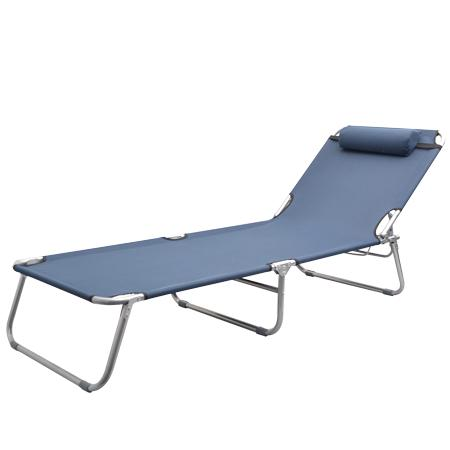 Portable outdoor folding sun chaise lounge beach pool for 3 in 1 beach chaise lounge