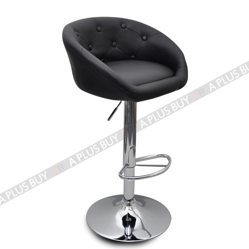 4x Luxury PU Leather Bar Stool Chair Swivel Adjustable Gas  : 776770912o from www.ebay.com.au size 850 x 850 jpeg 34kB