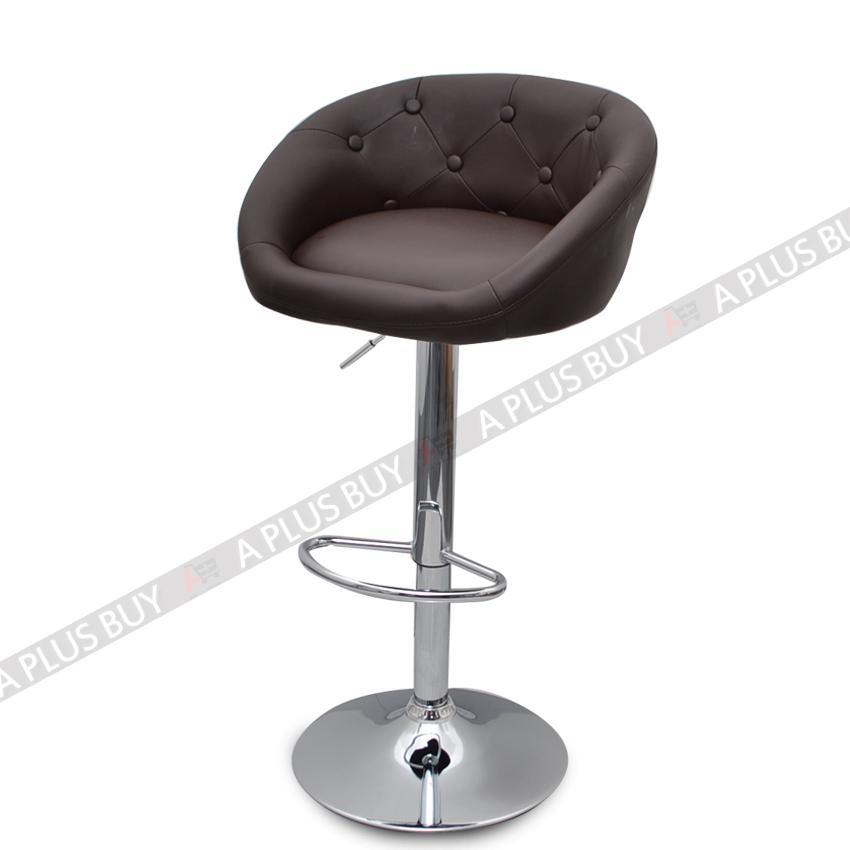2x Luxury PU Leather Bar Stool Chair Swivel Adjustable Gas  : 776776157o from www.ebay.com.au size 850 x 850 jpeg 32kB