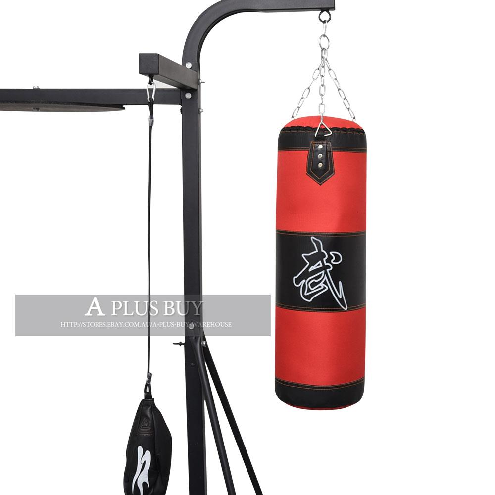 Home Gym Heavy Bag: 1x 80CM 15KG Large Martial Arts Boxing Kicking Punching
