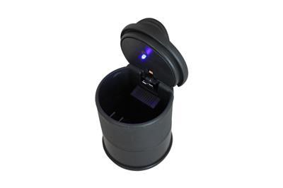kfz auto aschenbecher led beleuchtung schwarz hochglanz lkw pkw 1306. Black Bedroom Furniture Sets. Home Design Ideas