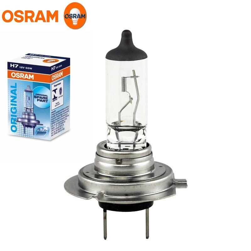 10 x osram h7 12v 55w headlights halogen 499 car bulb. Black Bedroom Furniture Sets. Home Design Ideas