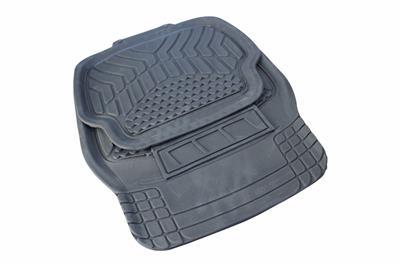 universal 4 tlg fu matten gummi automatten gummimatten auto matten grau 1303 ebay. Black Bedroom Furniture Sets. Home Design Ideas