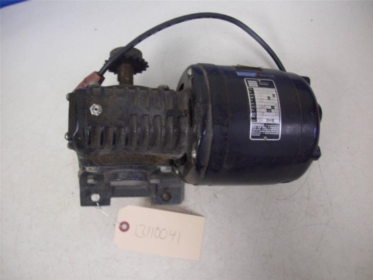Bodine Electric Gear Motor Make Everything You Motorized