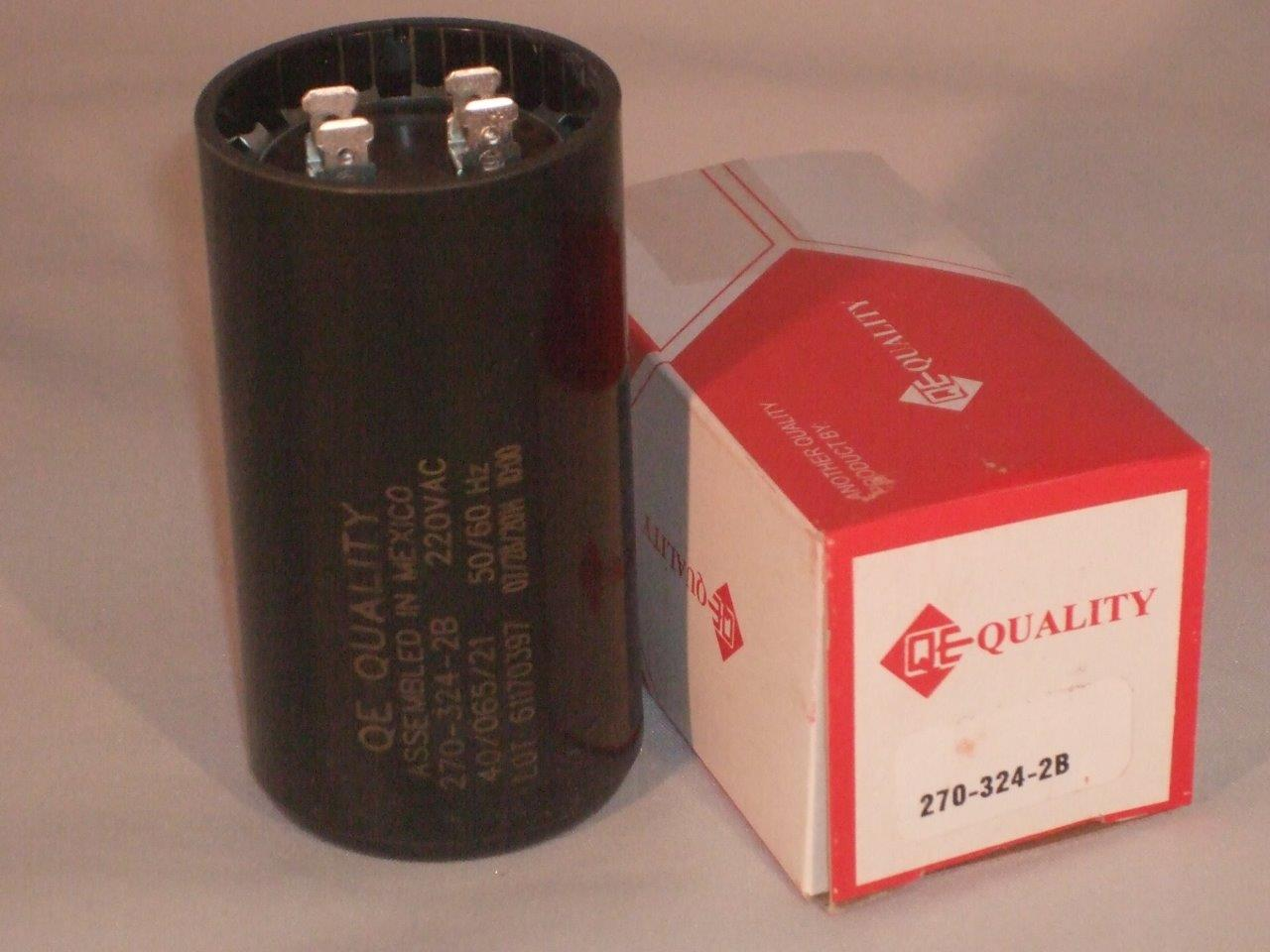 New 270 324 mfd 220 vac electric motor start capacitor uf for Motor start capacitors for sale