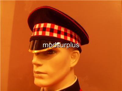 MOD-SURPLUS-British-Army-SCOTTISH-Scots-Guards-No1-2-Dress-Uniform-hat-cap