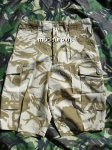 NEW-British-genuine-Army-Surplus-solider-sand-Desert-Combat-Shorts-all-sizes
