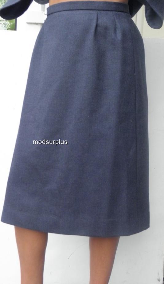 Women-039-s-lady-Royal-Air-Force-Dress-Uniform-No2-Light-Weight-Skirt-WRAF