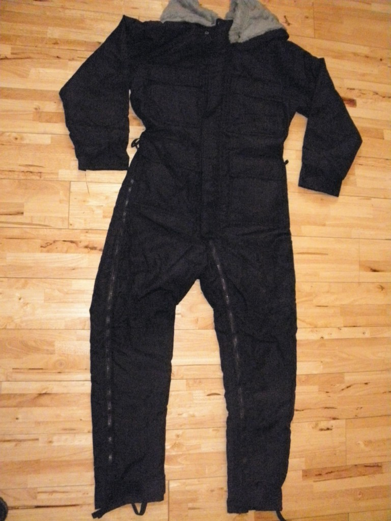 NEW-EXTREME-COLD-WEATHER-SIOEN-SAS-Special-Forces-ECW-Black-Thermal-Coverall