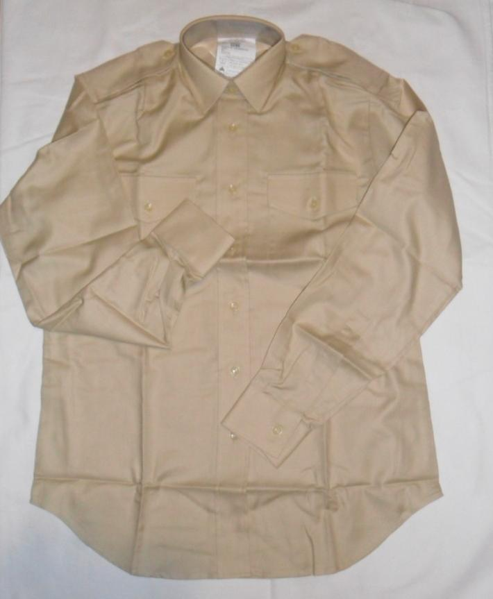 NEW-British-Army-Officer-SNCO-NCO-Women-Fawn-fad-uniform-long-sleave-Shirt