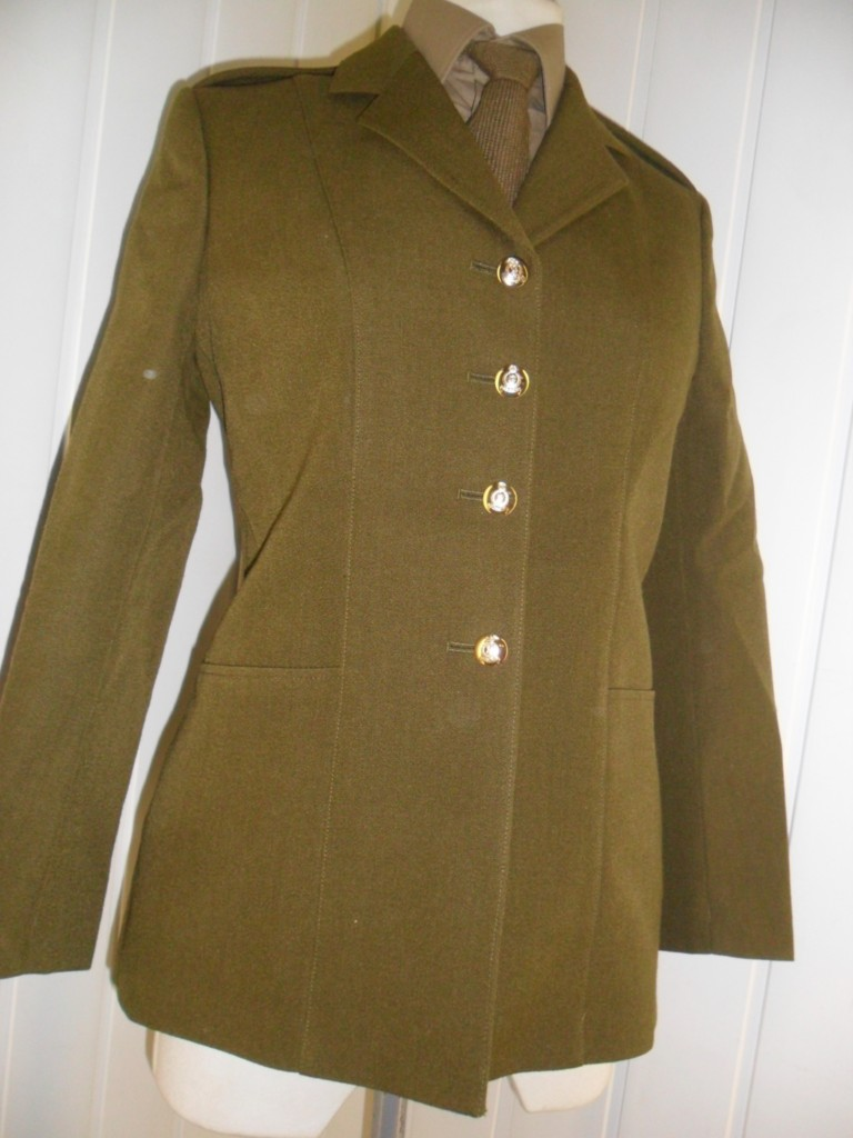 ... -Army-soldier-Womens-Military-No2-uniform-parade-khaki-Jacket-any-reg