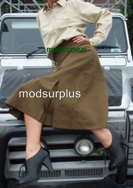 NEW-British-Army-Womans-Dress-Barrack-Uniform-Skirt-FAD-Current-Issue-All-Ranks