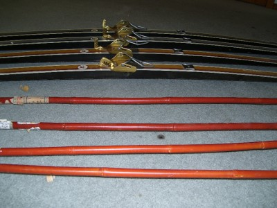 Mens and Womens Karhu Cross Country Skis including poles and Troll