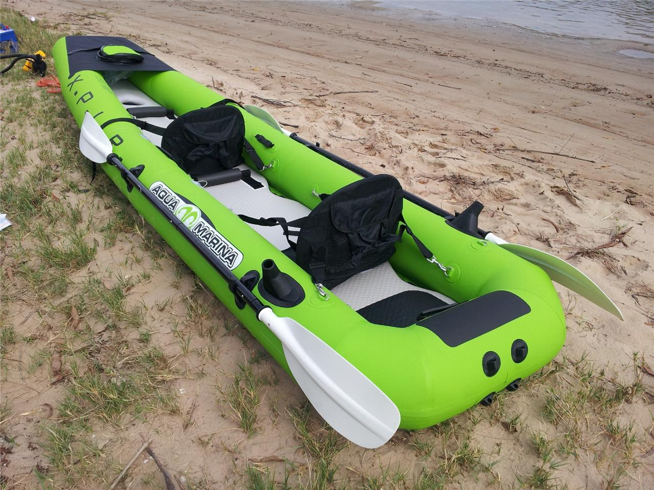 Fishing kayak canoe boat brand new inflatable 2 person for 2 seater fishing kayak