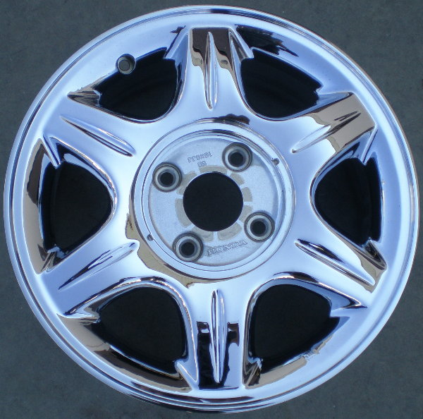 "71646 ACURA CL 16"" FACTORY OEM CHROME WHEEL RIM SINGLE B"