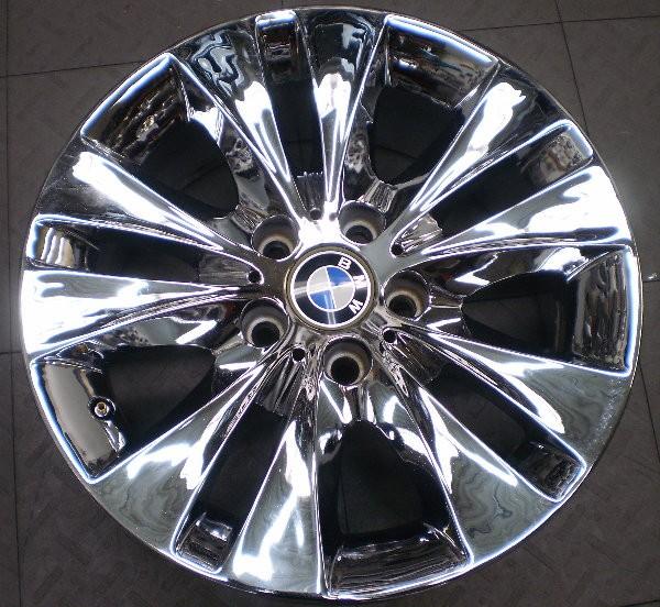 "59472 BMW 525i 530i 540i 17"" FACTORY OEM CHROME WHEEL RIM"