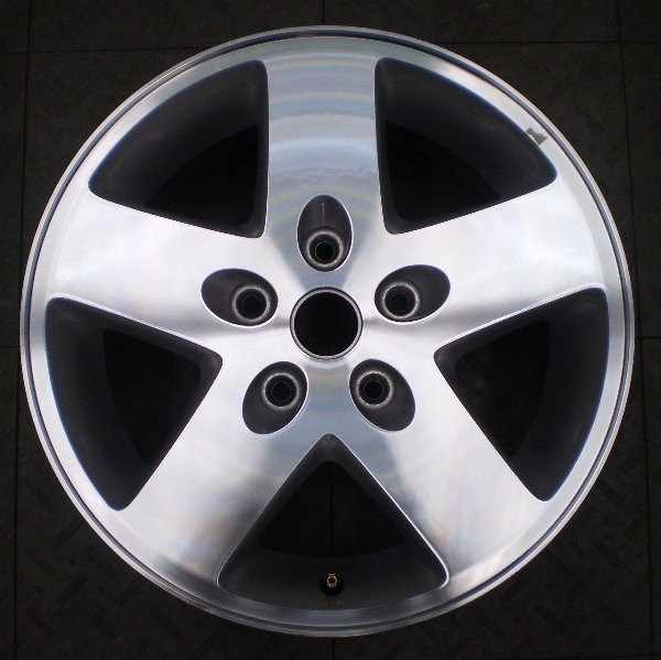 9074 JEEP WRANGLER 17 FACTORY WHEEL RIM MACHINED