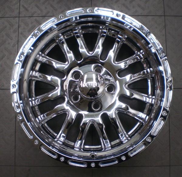 "Incubus 768 Supernatural Jeep Wrangler 18"" Aftermarket Chrome Wheels Rims 5"