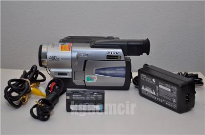 sony ccd-trv68 handycam, hi8, video8, built in tbc, dnr.