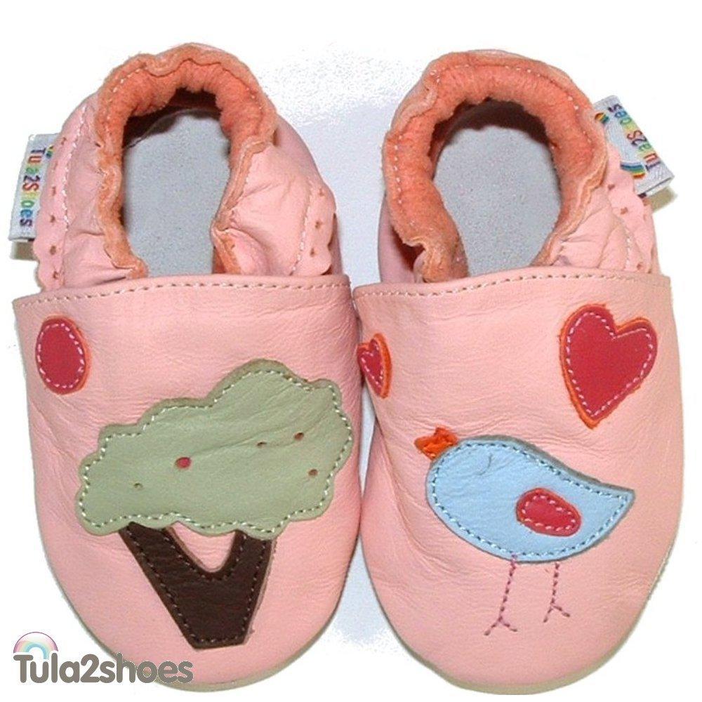 Tula2shoes-Nuevos-De-Lujo-De-Cuero-Suave-Bebe-CHICAS-CHICOS-Zapatos-0-6-6-12-12-18-18-24-M
