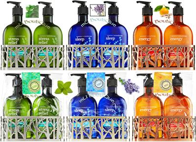 Bath body works aromatherapy hand soap lotion caddy Hand wash and lotion caddy