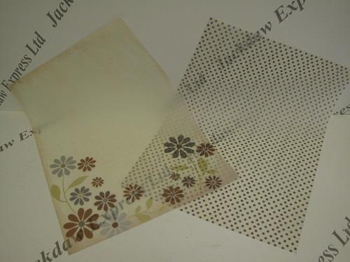 patterned vellum paper Decorative paper and card envelopes, envelope liners and boxes wedding kraft wedding stationery embellishments self assembly vellum a4 and a3 paper.