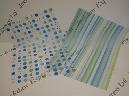 patterned vellum paper