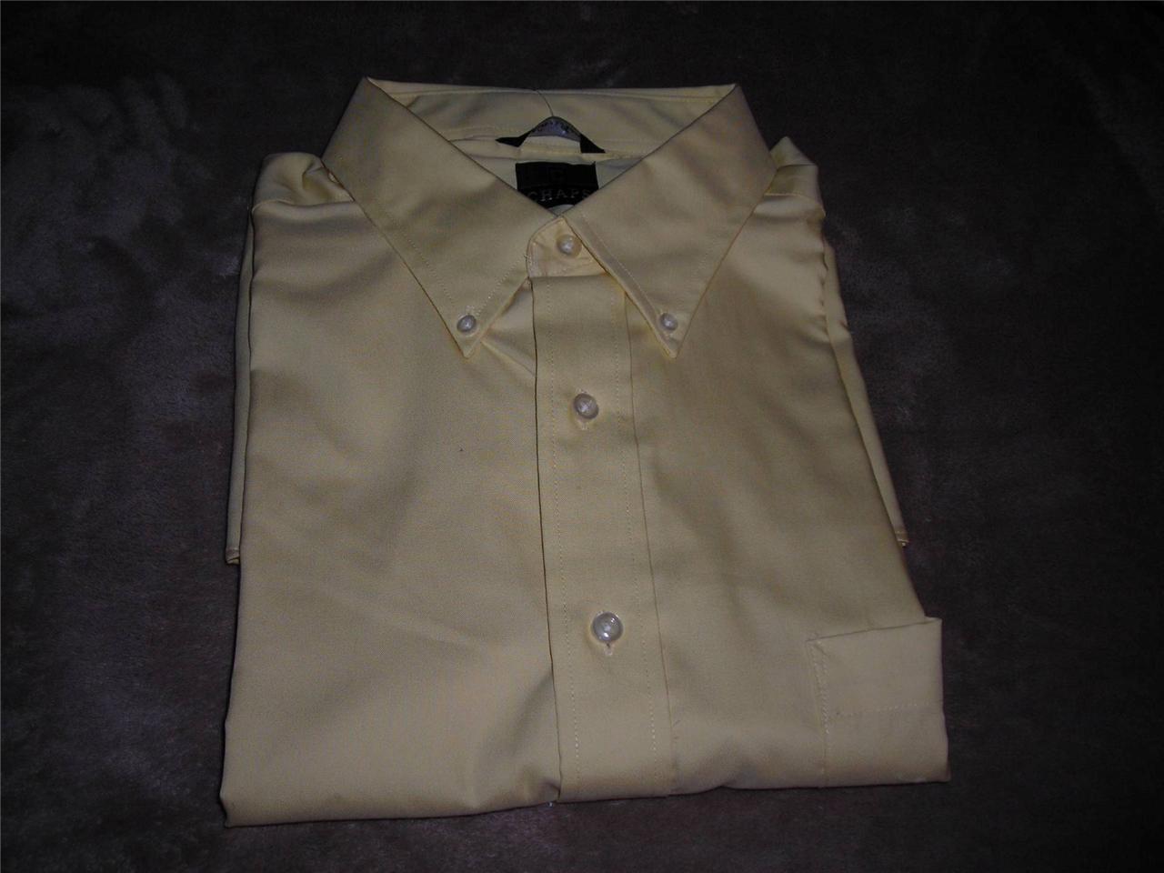 Chaps mens no iron long sleeve cotton classic fit dress for Men s no iron dress shirts
