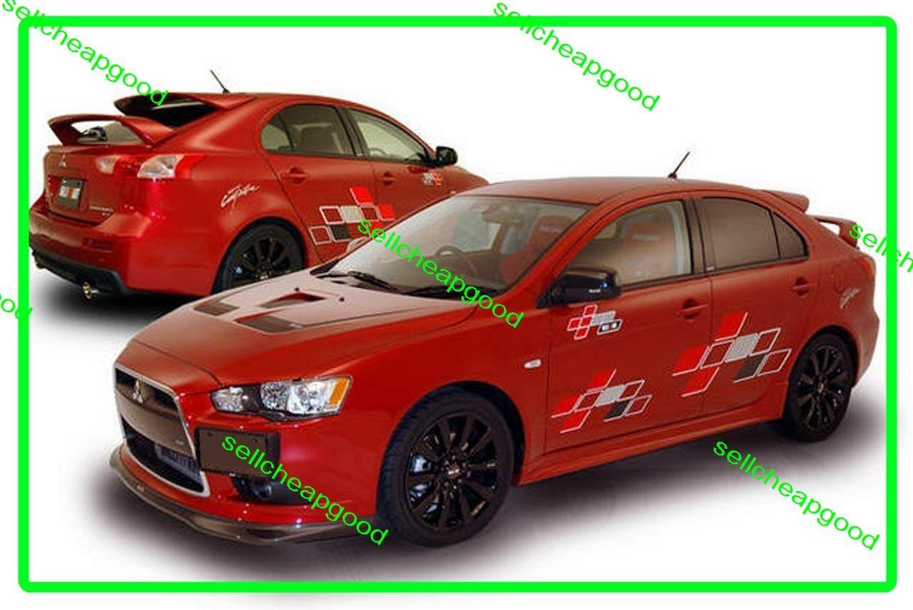 Mitsubishi Lancer Galant Fortis Sportback Ralliart Sides ...