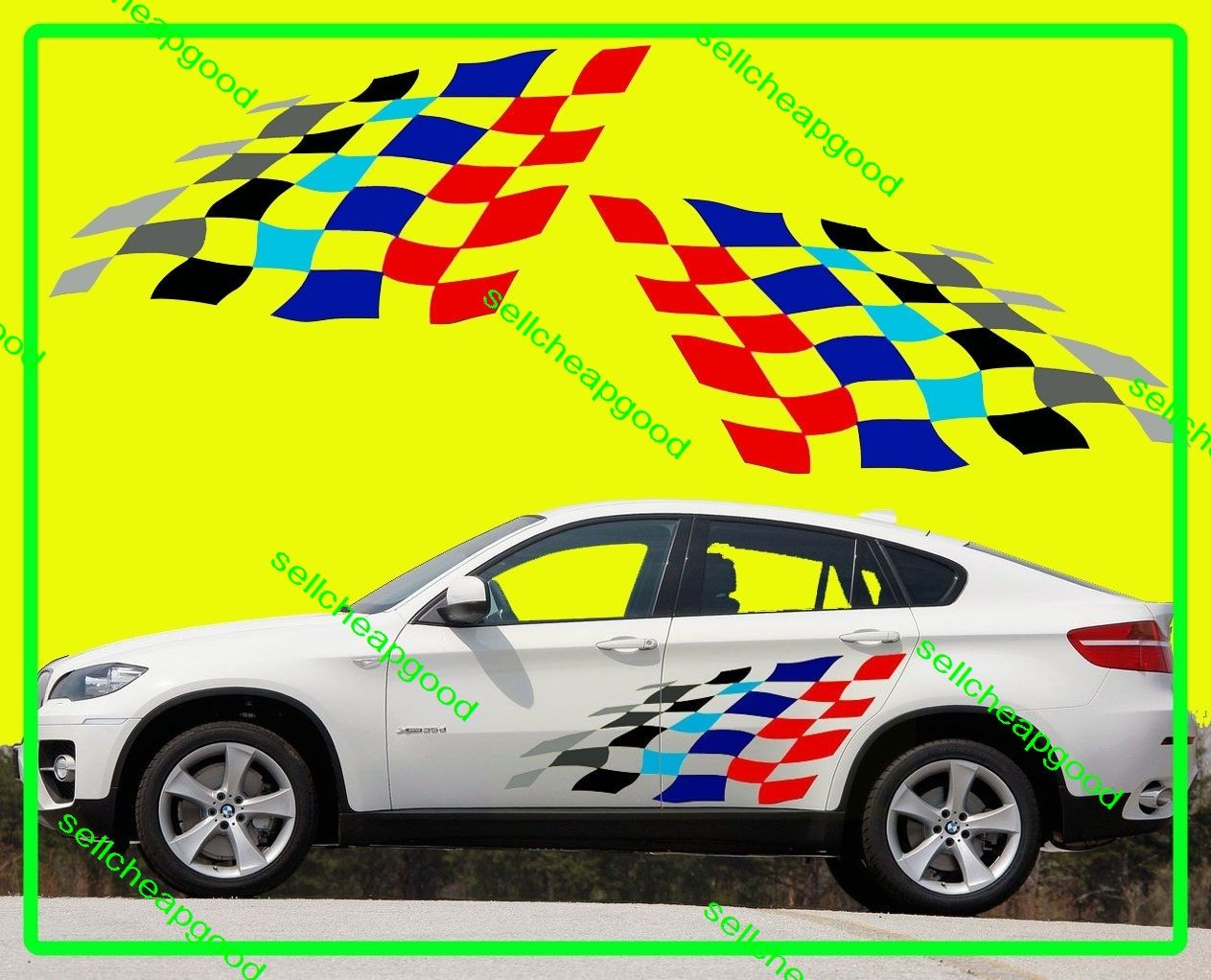 picture about Bmw Coupons Printable referred to as Checkered flag bmw discount codes - Chocolate chips discount coupons