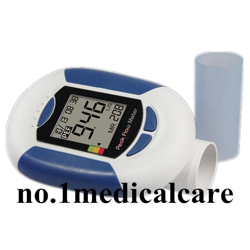 Digital Peak Meter : Contec microlife pf digital peak flow meter fev monitor