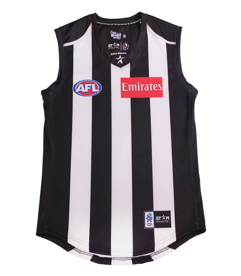 Afl Collingwood Magpies Football Jumper Guernsey Jersey Size S Xl