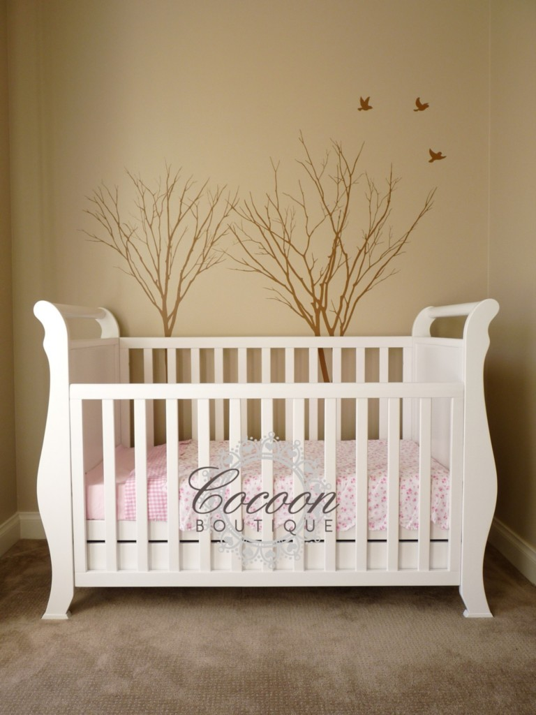 Sleigh Cot Toddler Bed