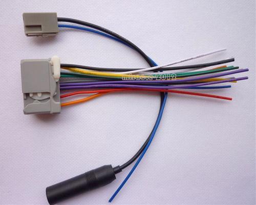 stereo audio aftermarket wire harness radio antenna for honda 2008 2011 ebay