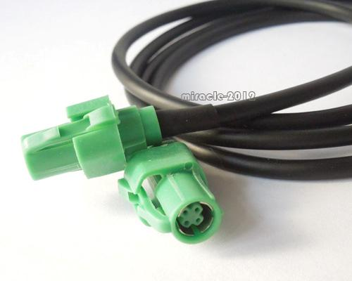 Usb switch aux wire input cable adapter for bmw e