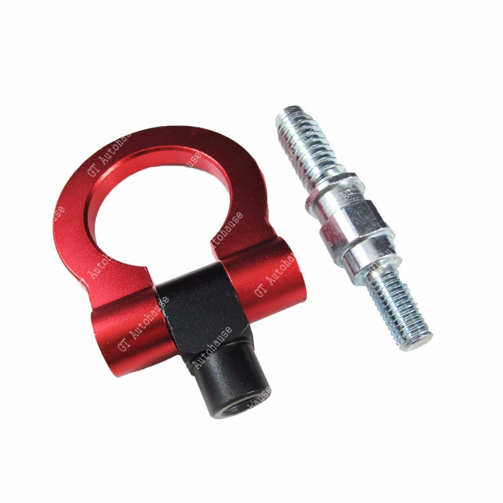 Bmw X6 Towing Capacity: 1x Anodized Red Track Racing Style Aluminum Tow Hook For