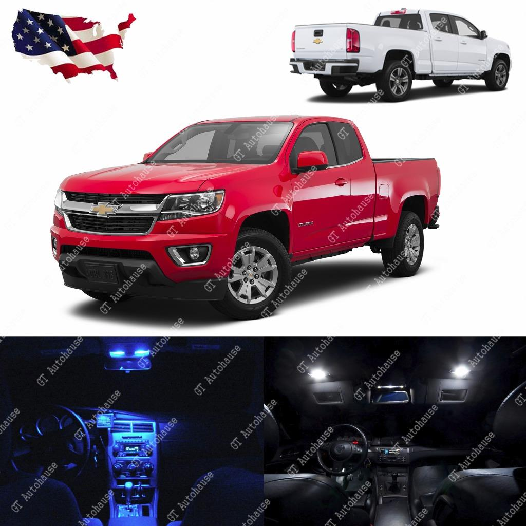 2015 Up Chevy Colorado 10x Light Bulbs Smd Interior Led Lights Package Kit