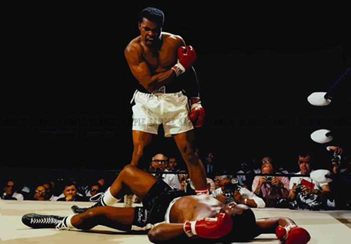 Muhammad Ali Vs Sonny Liston Wallpaper Download