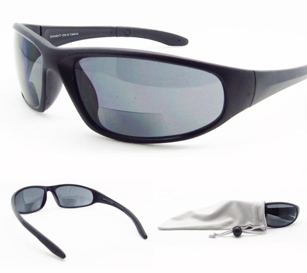 bifocal sun glasses tinted smoke sunglasses safety sport 1