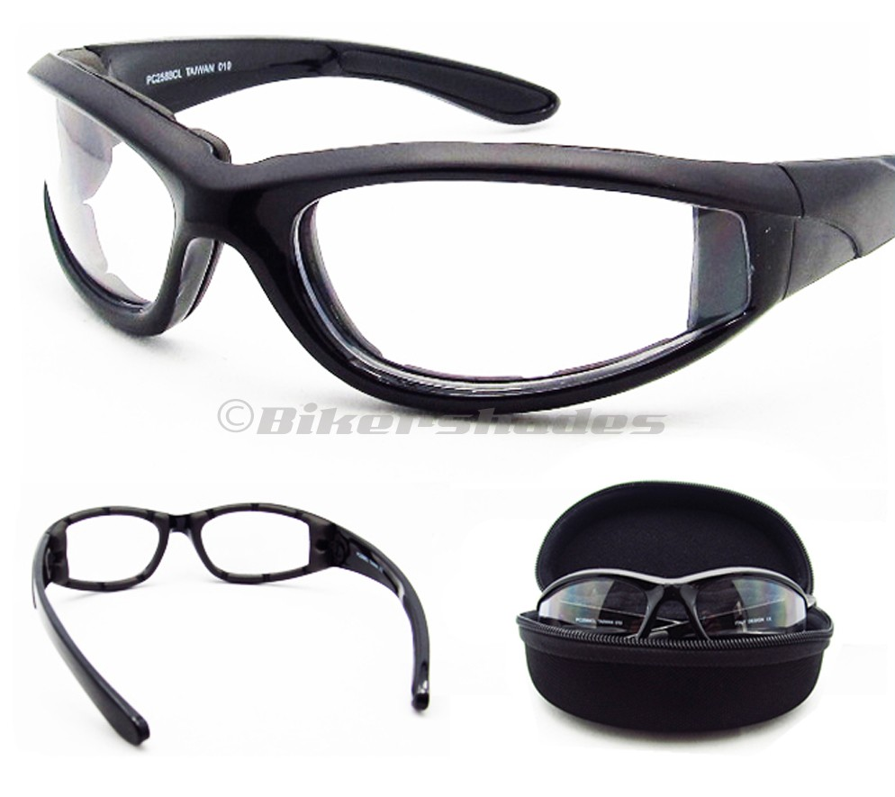 Transition Lens Sunglasses  motorcycle transition lens biker riding sun glasses day night foam