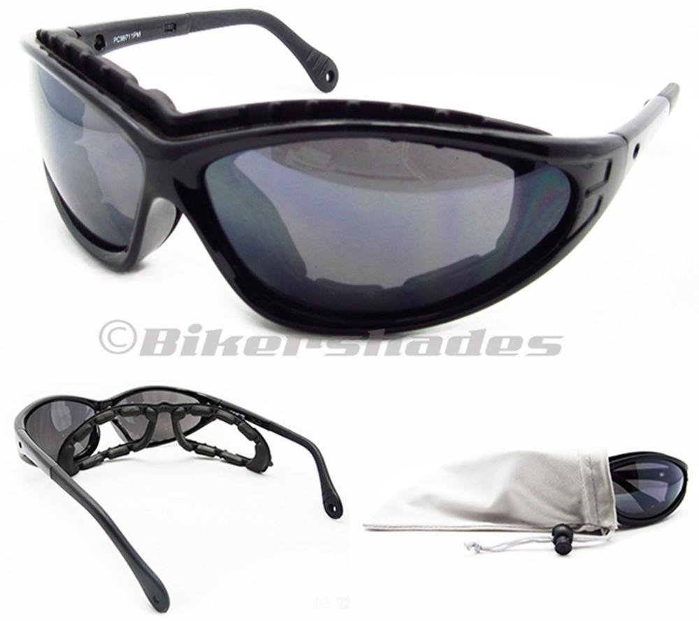 XL - XXL Motorcycle Biker Sunglasses Glasses Removable ...