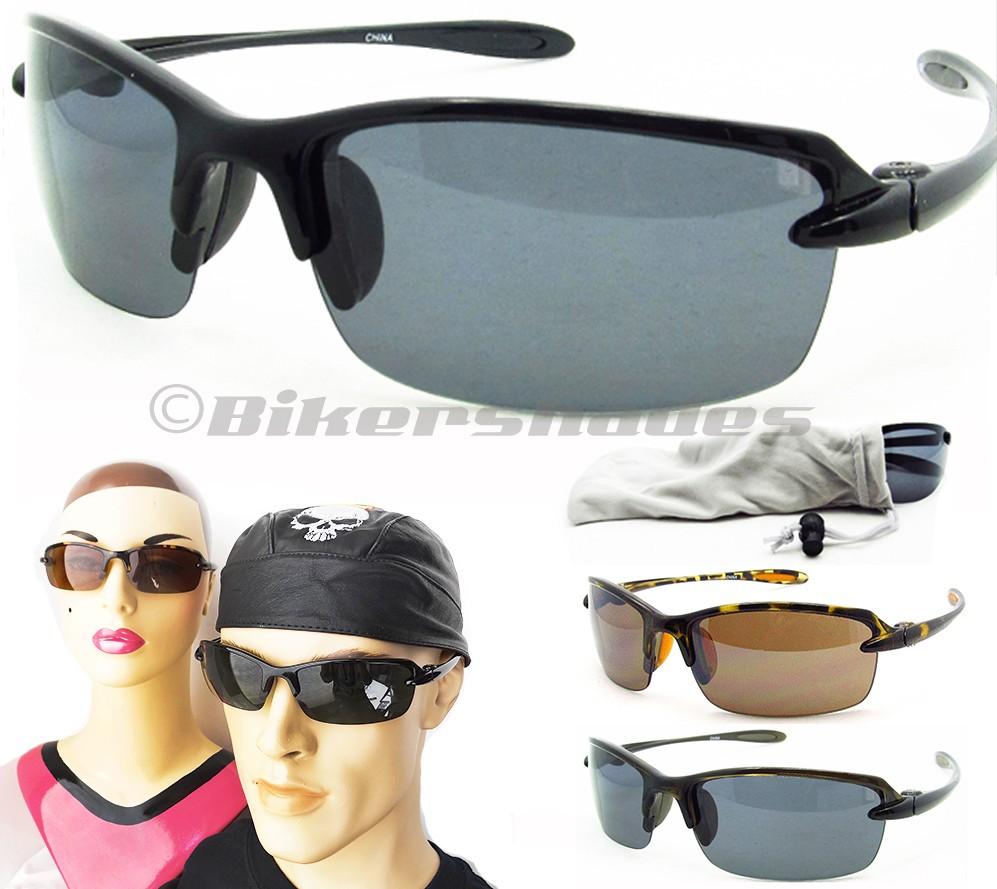 TR90 Semi Rimless Polarized Sunglasses for Fishing Running ...