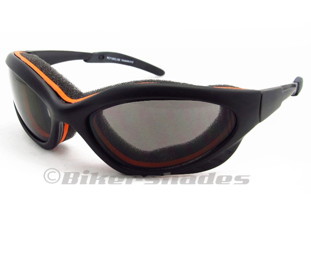 Motorcycle Biker Riding Sunglasses Goggles Safety Dust ...