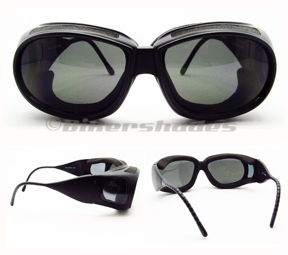 Motorcycle Coverover Over Glasses Goggles Ski Foam Padded ...