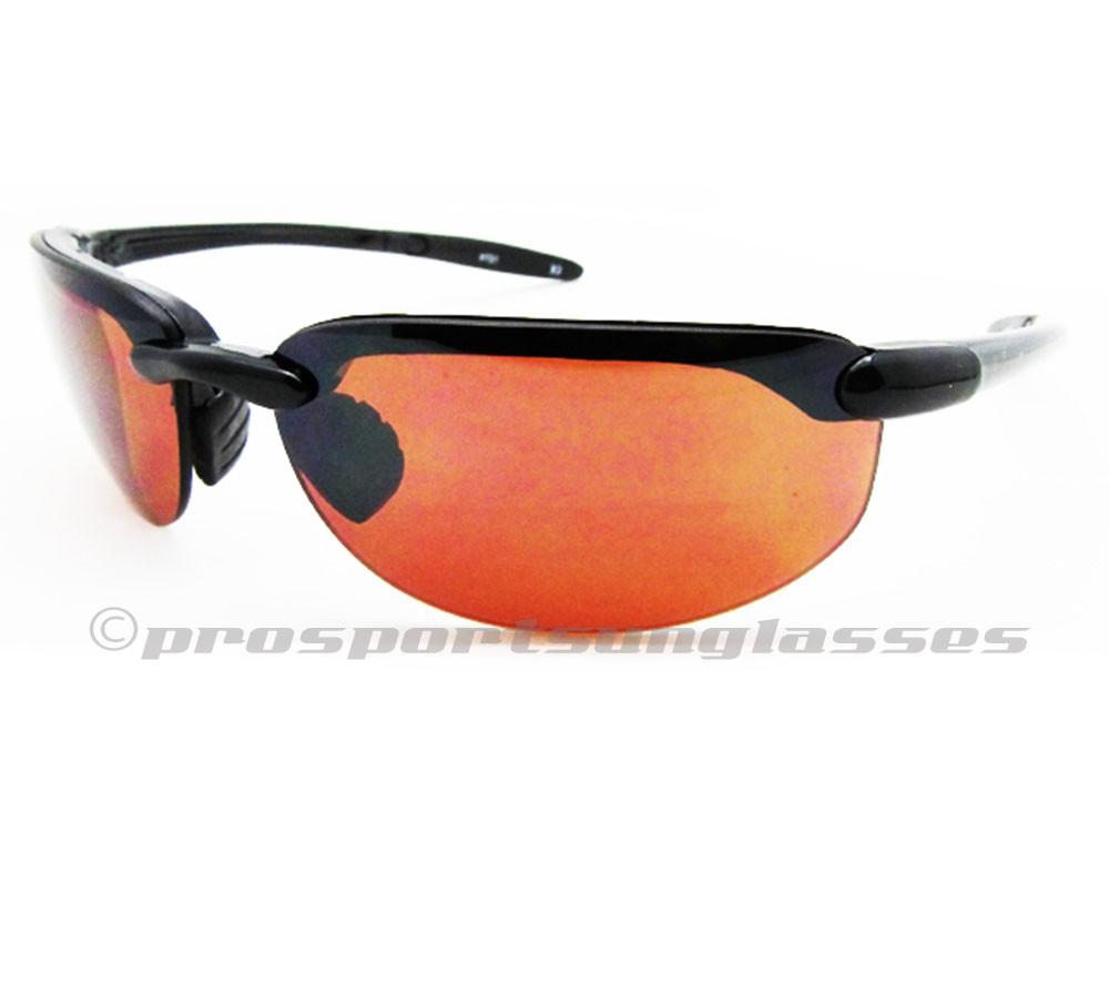Rimless Sport Sunglasses.Smoke Lens or HD Vision Blue ...