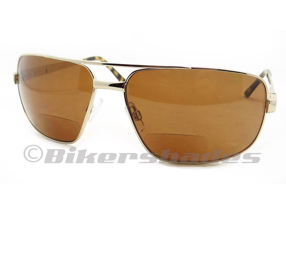 aviator polarized sunglasses ngy8  Square-Aviator-Polarized-Bifocal-Reading-Sunglasses-Men-1