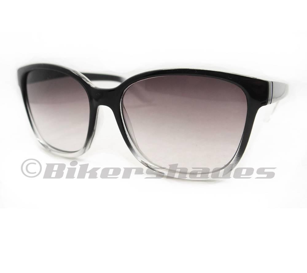 Women s Large Frame Reading Glasses : Wayfarer Reading Glasses Tinted Gradient Full Sun Readers ...